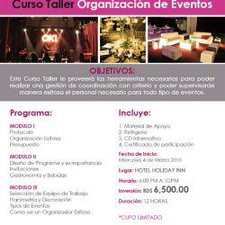 event school curso organizacion- 2015