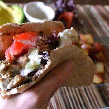 Tempeh Gyros with Tzatziki Sauce An Unrefined Vegan