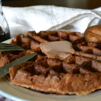 Banana Chai Buttermilk Waffles An Unrefined Vegan