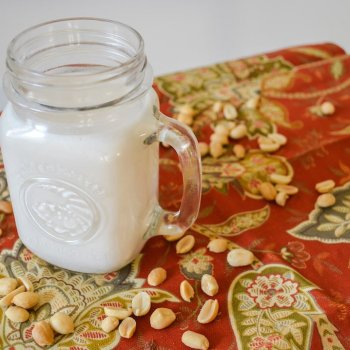 Peanut Milk An Unrefined Vegan