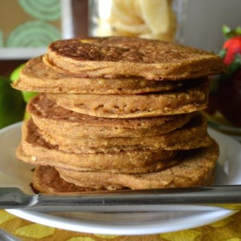Mango Lime Pancakes An Unrefined Vegan