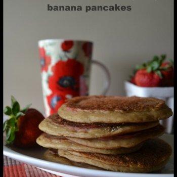 PBJ & Banana Pancakes