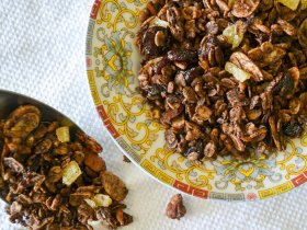 Chocolate Granola An Unrefined Vegan