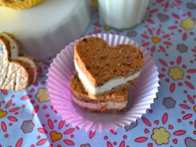 Carrot Cake and Cream Cheese Hearts An Unrefined Vegan