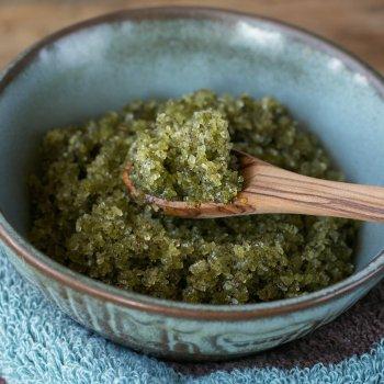 Matcha Mint Body Scrub An Unrefined Vegan