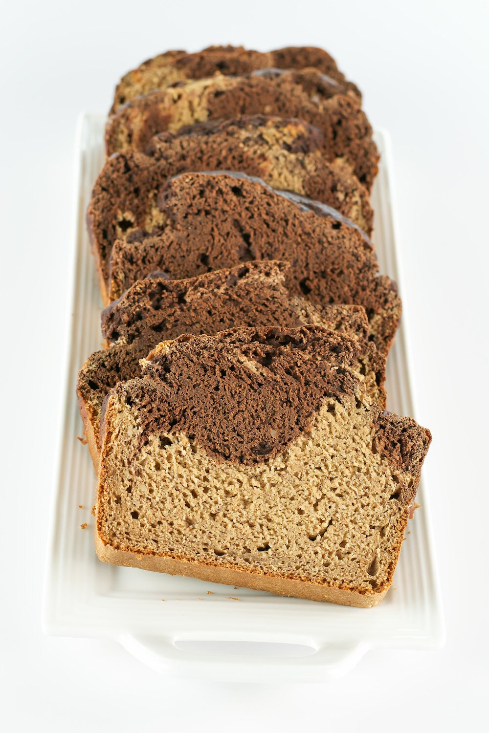 Sugar-free Vegan Marbled Banana Bread + NuNaturals Int'l Giveaway!