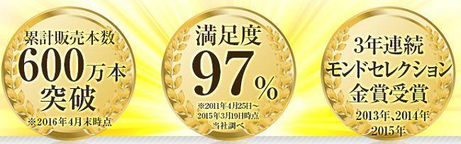 メディプラスゲルはモンドセレクション金賞3回
