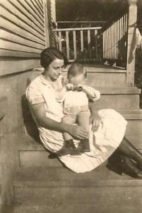 Dad and Grandma c 1925