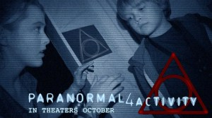 The difference between this PARANORMAL ACTIVITY and all the others - the number 4 of course...