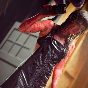 Despite it all, ya gotta admit that Katherine Isabella looks great covered in blood!!
