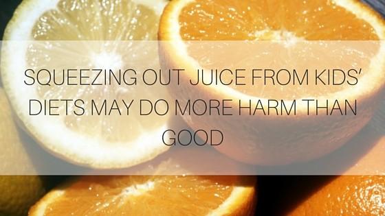 Benefits of Fruit Juice for Kids