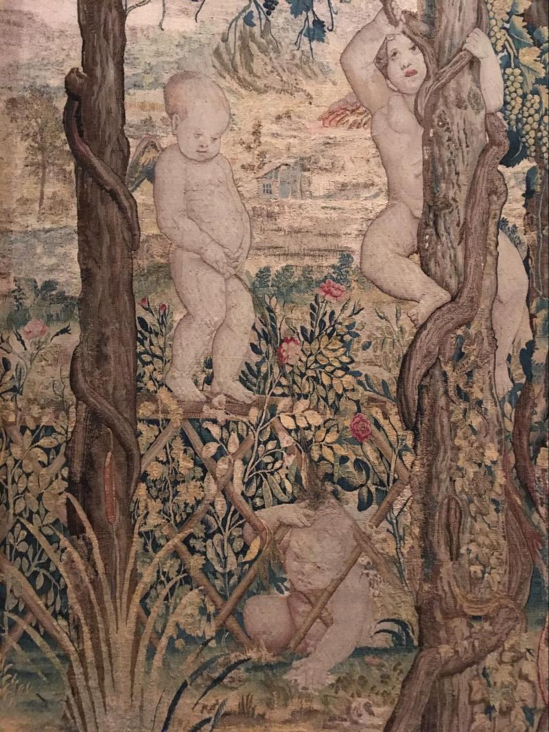 Bodacious Ball Game Tapestry After Giulio Se Babies From Historic Art Will Haunt Your Dreams Museum Hack Weird Medieval Art Tumblr Weird Medieval Art Memes