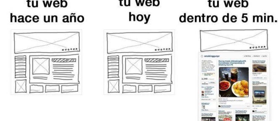 Cómo mejorar tu página web en 5 minutos
