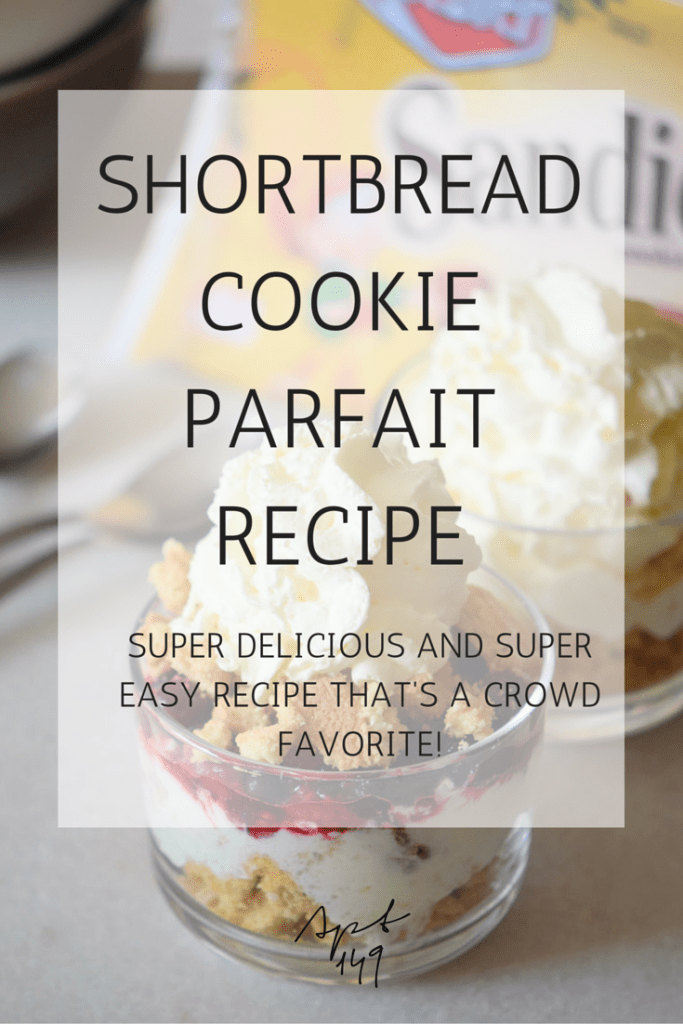 Shortbread Cookie Parfait