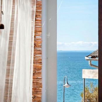 Bedroom 2, partial sea view