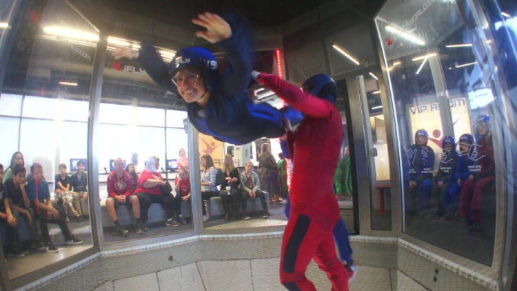 indoor sky diving in san francisco