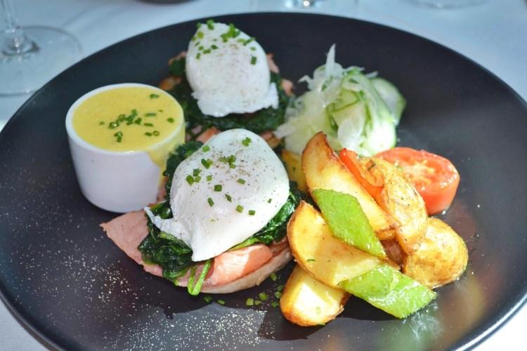 eggs benedict luce intercontinental san francisco