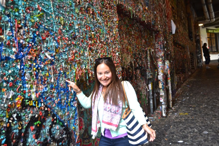 touching the gum wall seattle