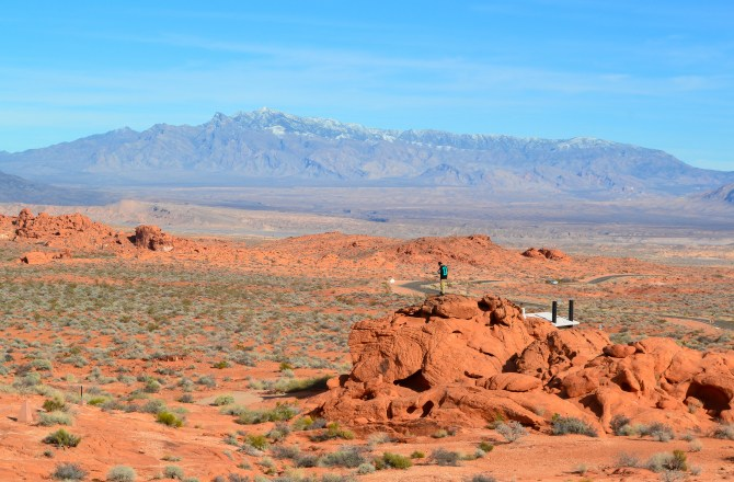 The Valley of Fire: Prancing Around in Nevada's Oldest State Park