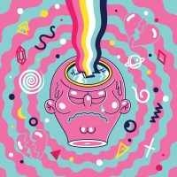 Talking to Rob Flowers about his Psychedelic Toy-inspired Illustrations
