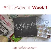 #NTDAdvent Journaling Bible Week 1