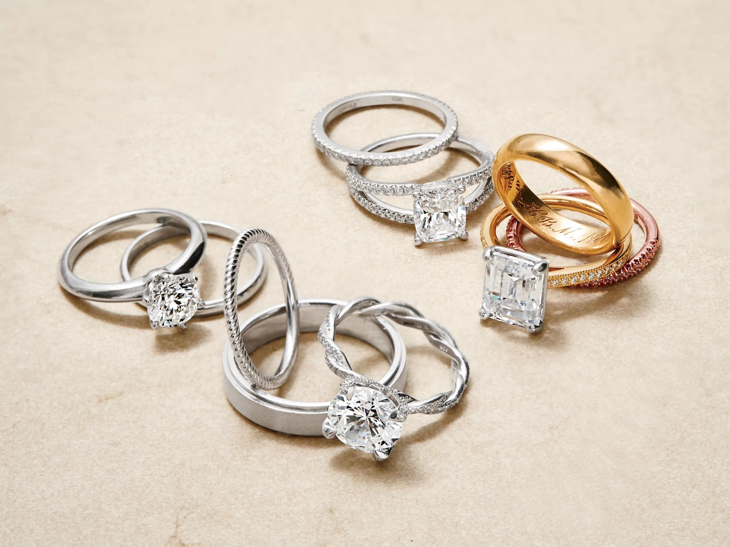rules for choosing your wedding bands buy wedding rings