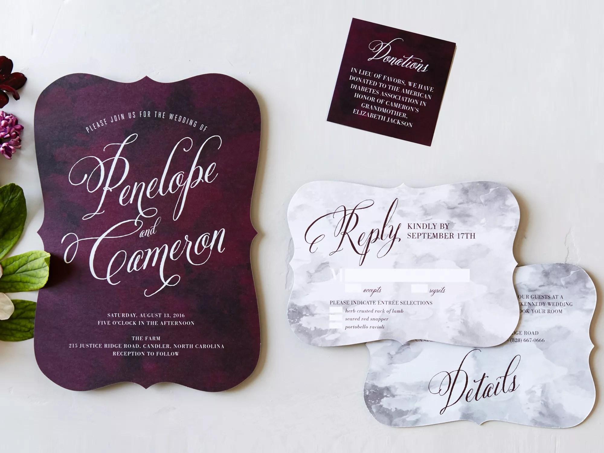 wedding invitation trends sample wedding invitations