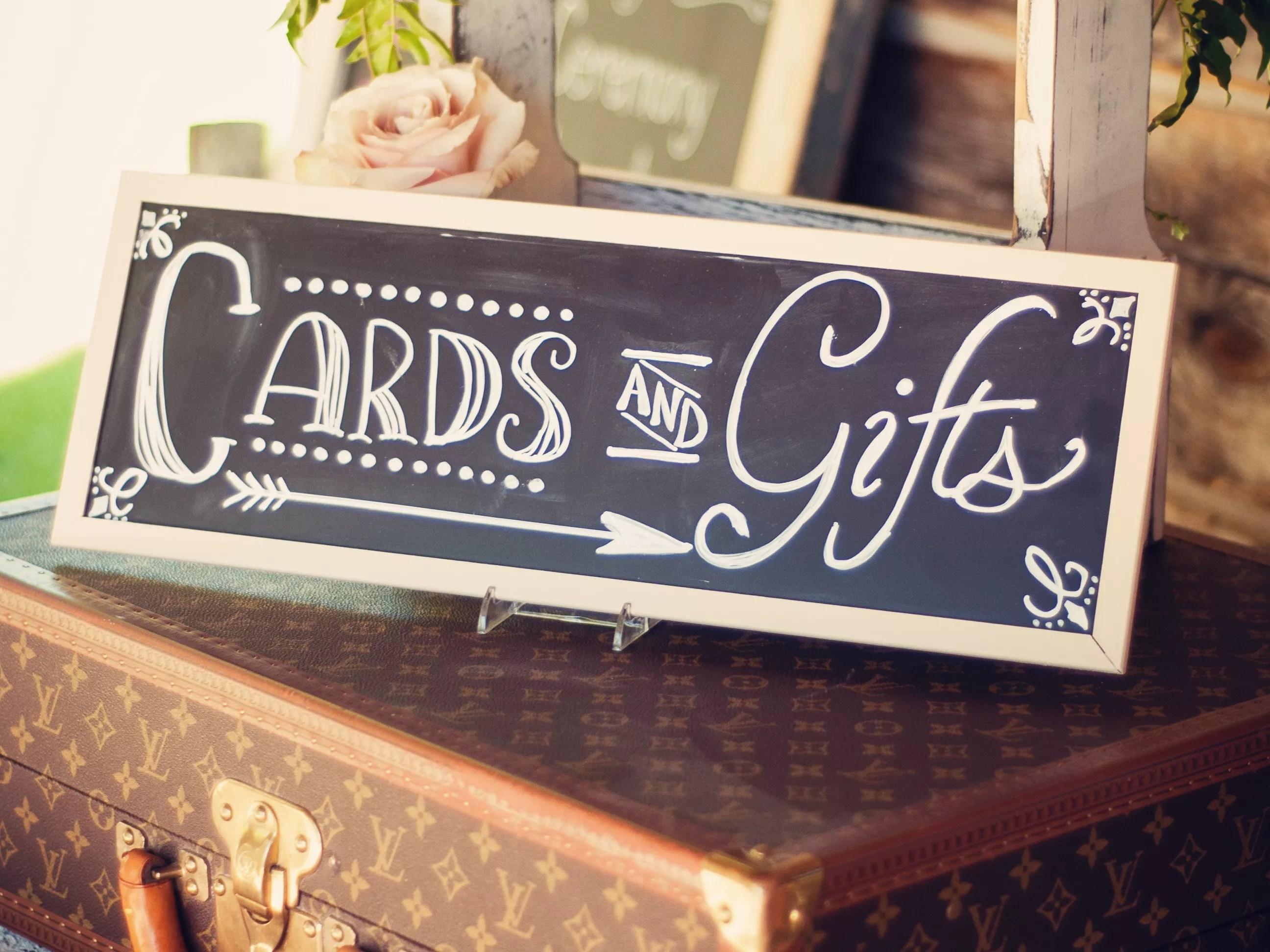 rules of wedding gift giving wedding gift