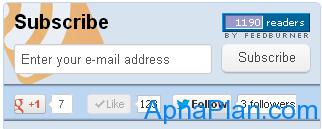 Apnaplan.com - Subscribers & Likes - Feb 2013