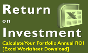 Calculate Return on your Investment Portfolio (Excel)