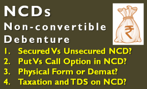 NCD - Tax, TDS and Investment Tips