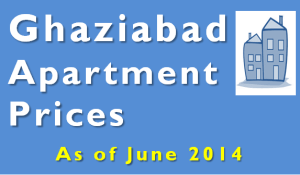 Ghaziabad Apartment Prices - June 2014