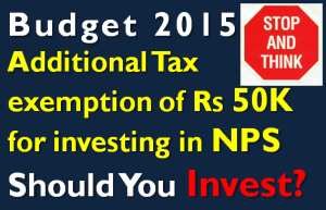 Should you Invest in NPS to Save Tax u/s 80CCD (1B)?