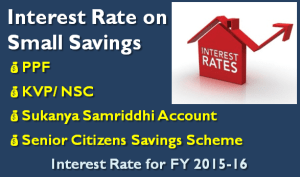 Sukanya Samriddhi - PPF Interest Rate for FY 2015-16