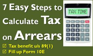Tax on Arrears