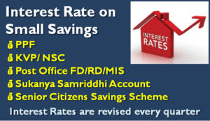 Latest Small Saving Schemes Interest Rate