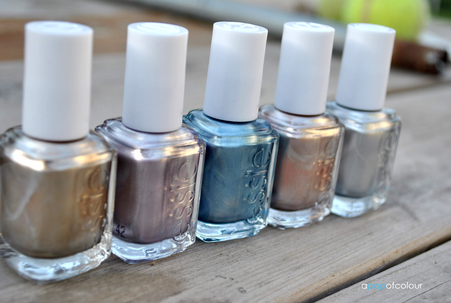 Essie Mirror Metallics collection - A Pop of Colour
