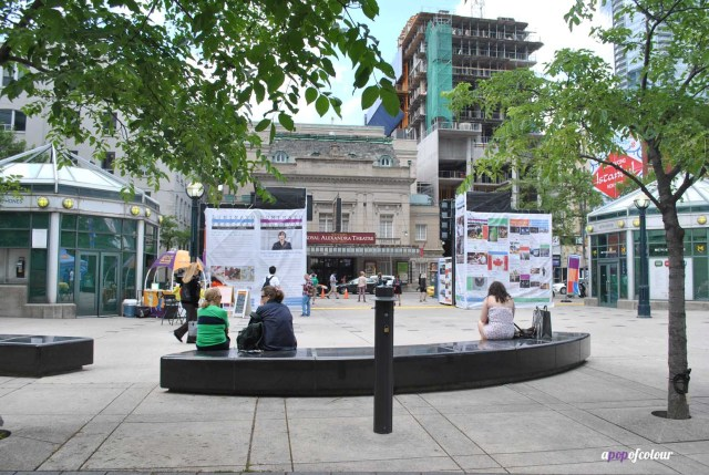 Luminato Hub at David Pecaut Square