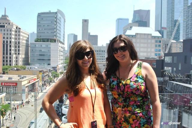 jess and i on balcony