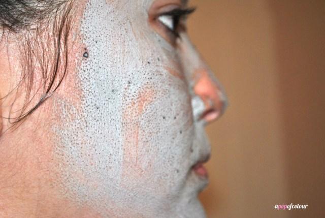 white mask pores