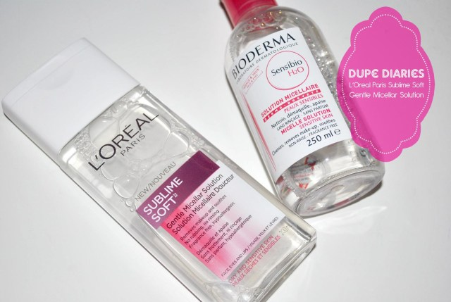 L'oreal dupe title