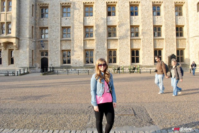 Me at the Tower of London