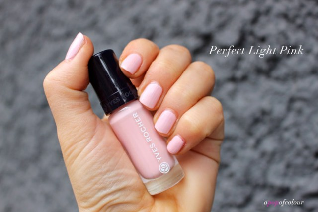 Perfect Light Pink