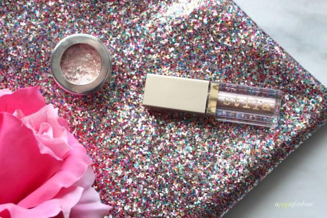 Stila Cosmetics Magnificent Metals Glitter & Glow Liquid Eyeshadow in Karma Kitten