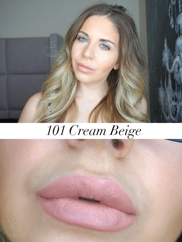 Make Up For Ever Artist Liquid Matte in 101 Cream Beige