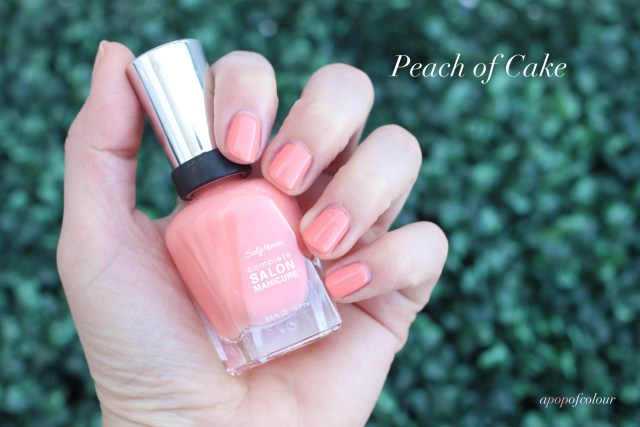 Sally Hansen Complete Salon Manicure in Peach of Cake
