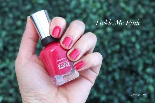 Sally Hansen Complete Salon Manicure in Tickle Me Pink