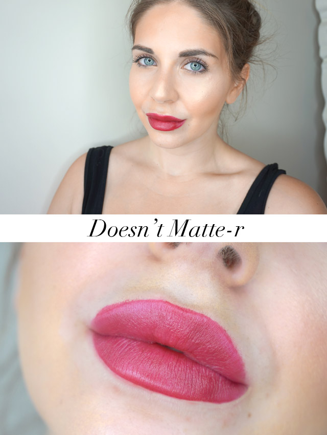 L'Oreal Paris Colour Riche Matte Doesn't Matte-r lipstick