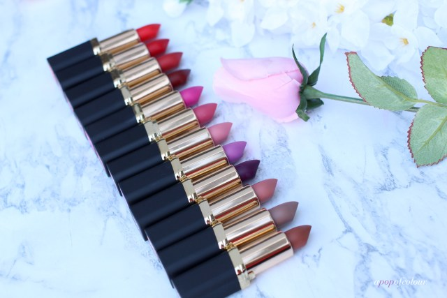 L'Oreal Paris Colour Riche Matte lipsticks