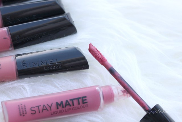 Rimmel London Stay Matte Liquid Lip Colour wand